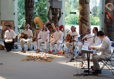 One Voice Harmonic Choir at the Museum of Anthropology, 18 April 2004